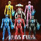 6PCS Set Power Rangers The Movie Action Figures Kimberly Tri