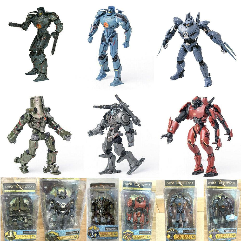 7 inch scale pacific rim jaeger action