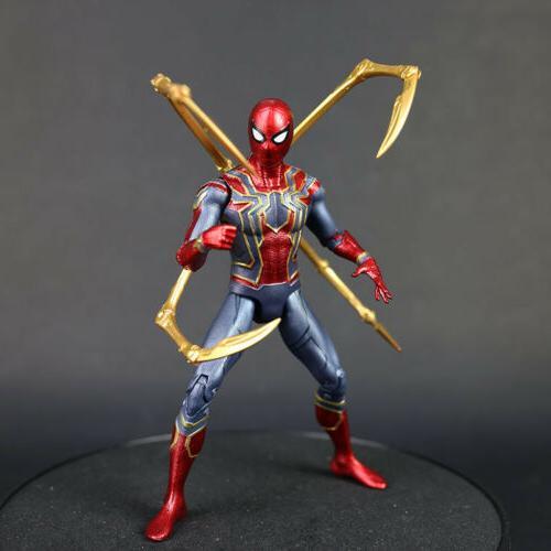 Marvel Spider Man Iron Spider Avengers Infinity War 7''