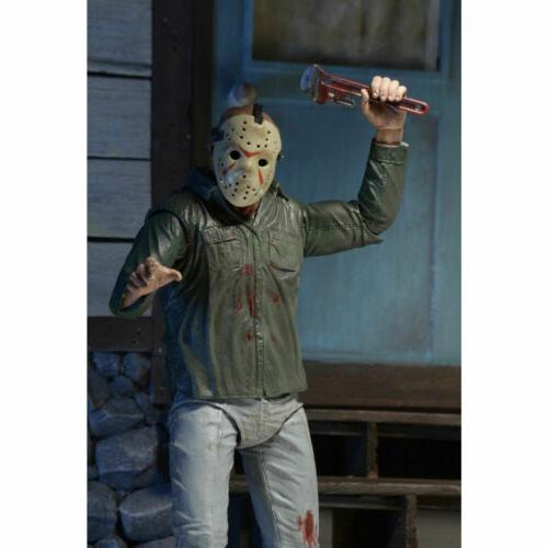 "7"" Scale the 13th Part JASON Ultimate Action Figure Gift"
