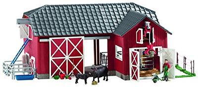 Schleich 72102 Barn with Animals and Accessories Action Figu