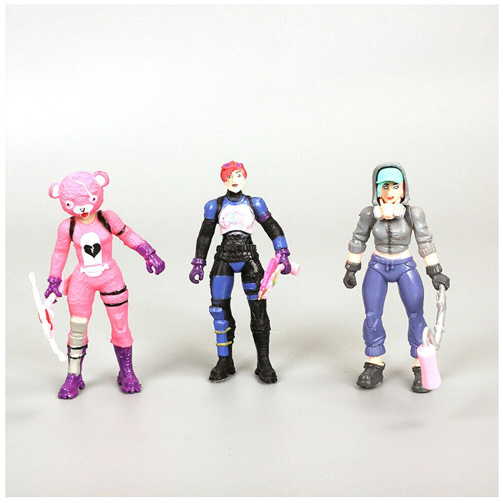 8 Pcs Fortnite Figures Trooper Outlander Gift