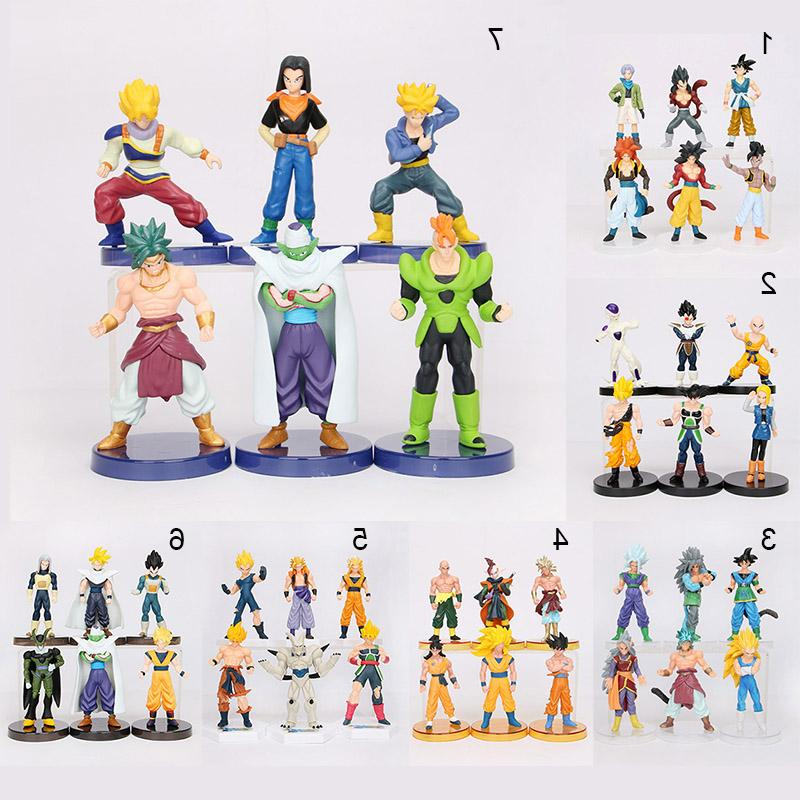 8pcs/set 6pcs/set Ball Z Joint Piccolo Goku PVC <font><b>Figure</b></font> Toys