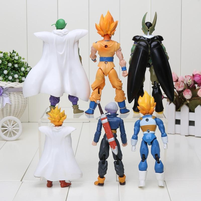 8pcs/set 6pcs/set Dragon Z Piccolo Son Goku
