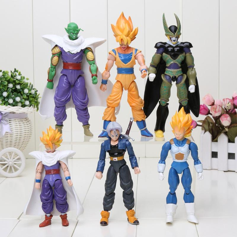 8pcs set 6pcs set dragon ball z