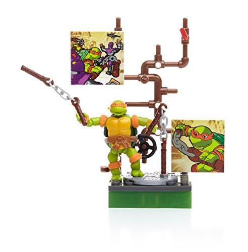 Mega Bloks Ninja Classic Michaelangelo Figure