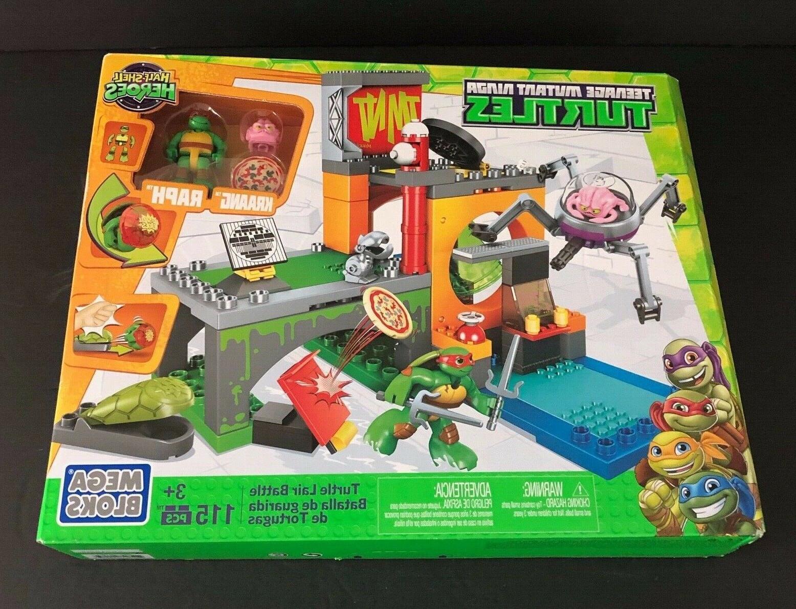 Mega Bloks Teenage Mutant Ninja Turtles Half-Shell Heroes Tu