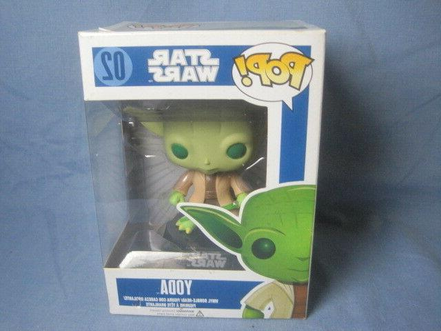 NIB POP! Wars Bobble Head Yoda Vinyl Figure #02 - Toys