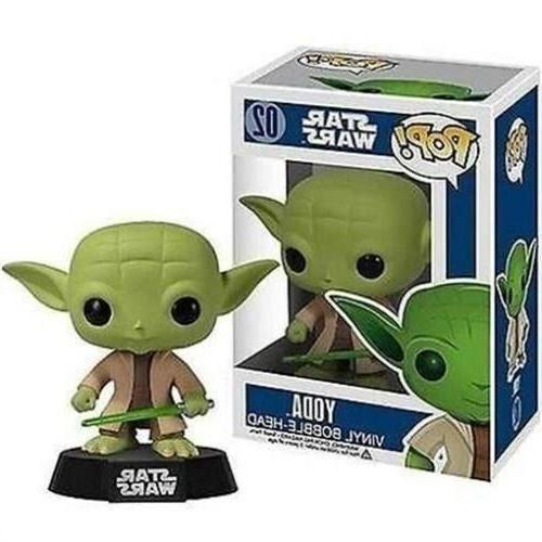 NIB  POP! Star Wars Bobble Head Yoda 3.75-Inch Vinyl Toy Fig