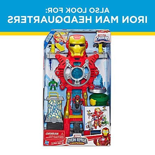 Playskool Heroes Hero Ultimate Super Hero Set, 2.5-Inch Figures, for and Up