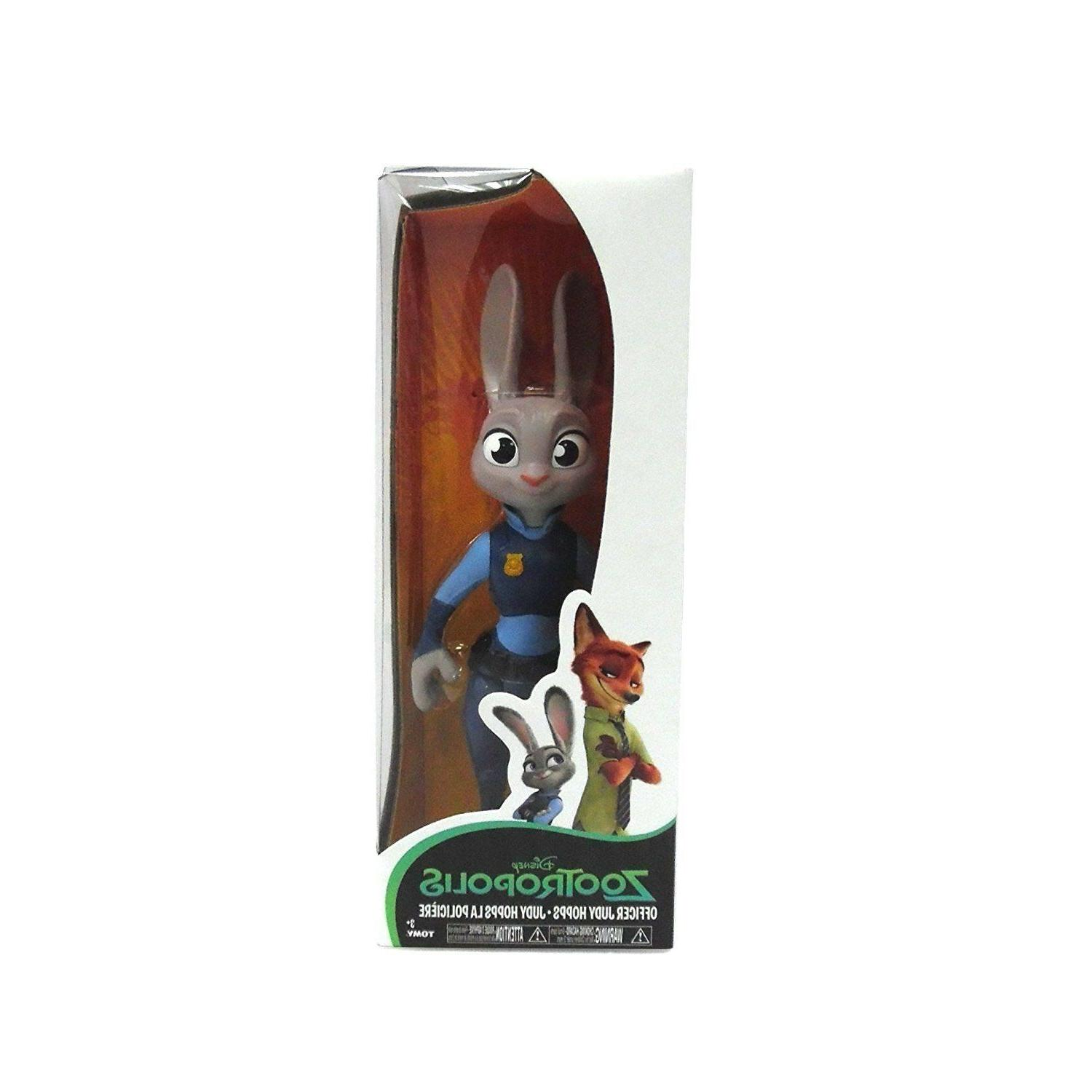 TOMY Zootopia Large Figure, Officer Judy Hopps