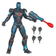"Iron Man 6"" Action Figure Awesome Stealth Armor"