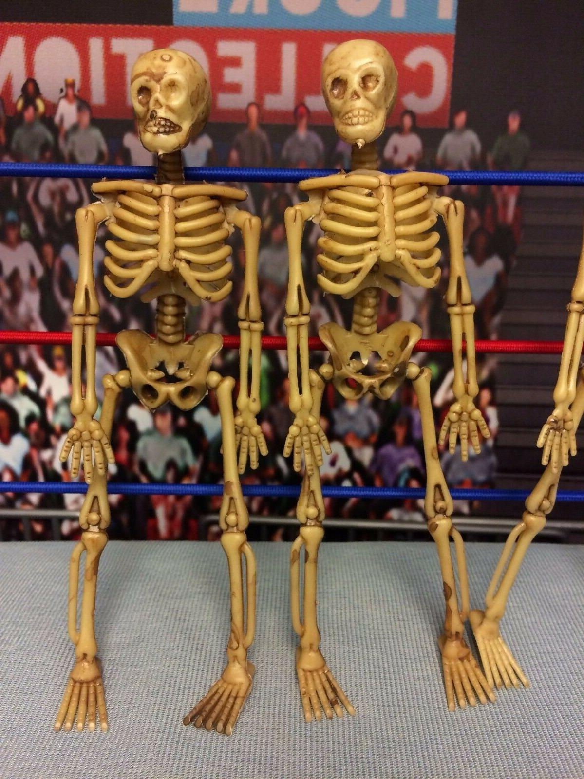 Action Figure Skeletons Lot 4 Accessories WWE Mortal