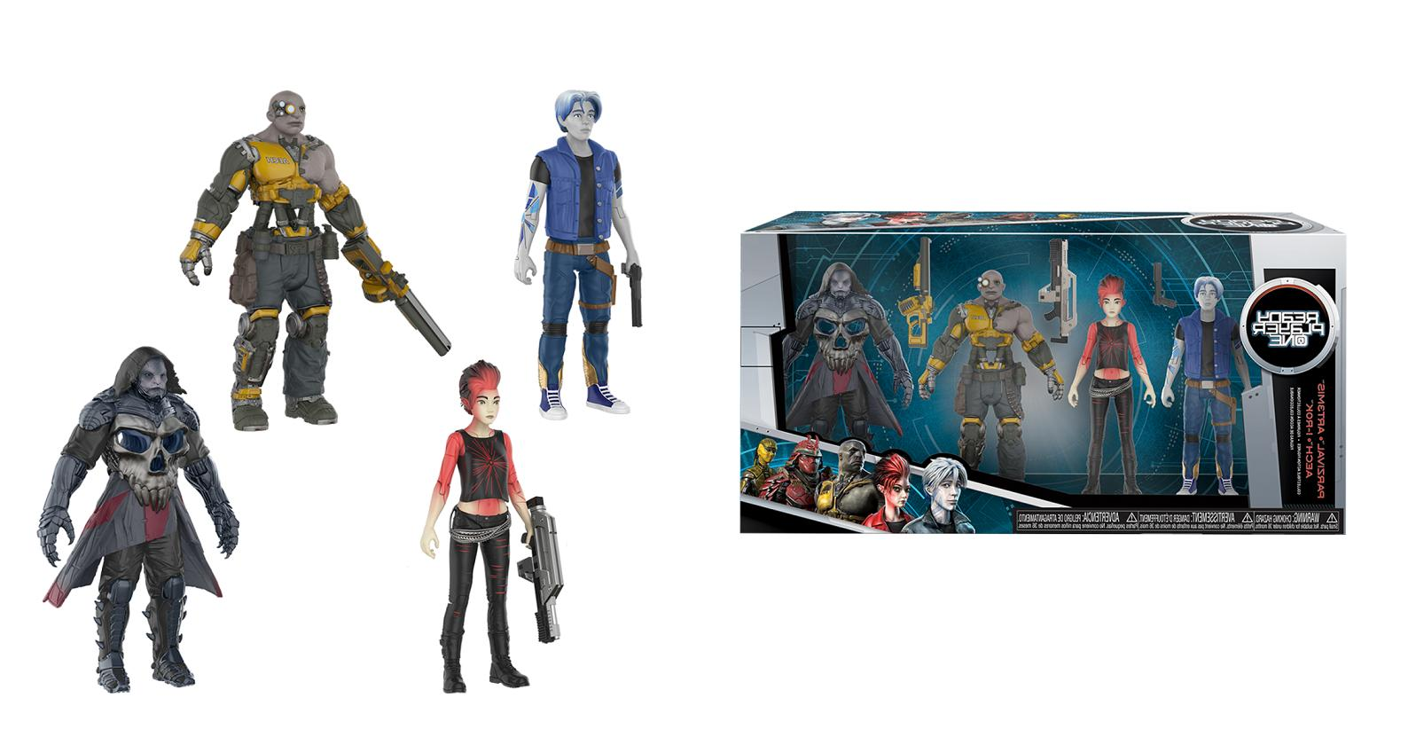 action figure set ready player one 4