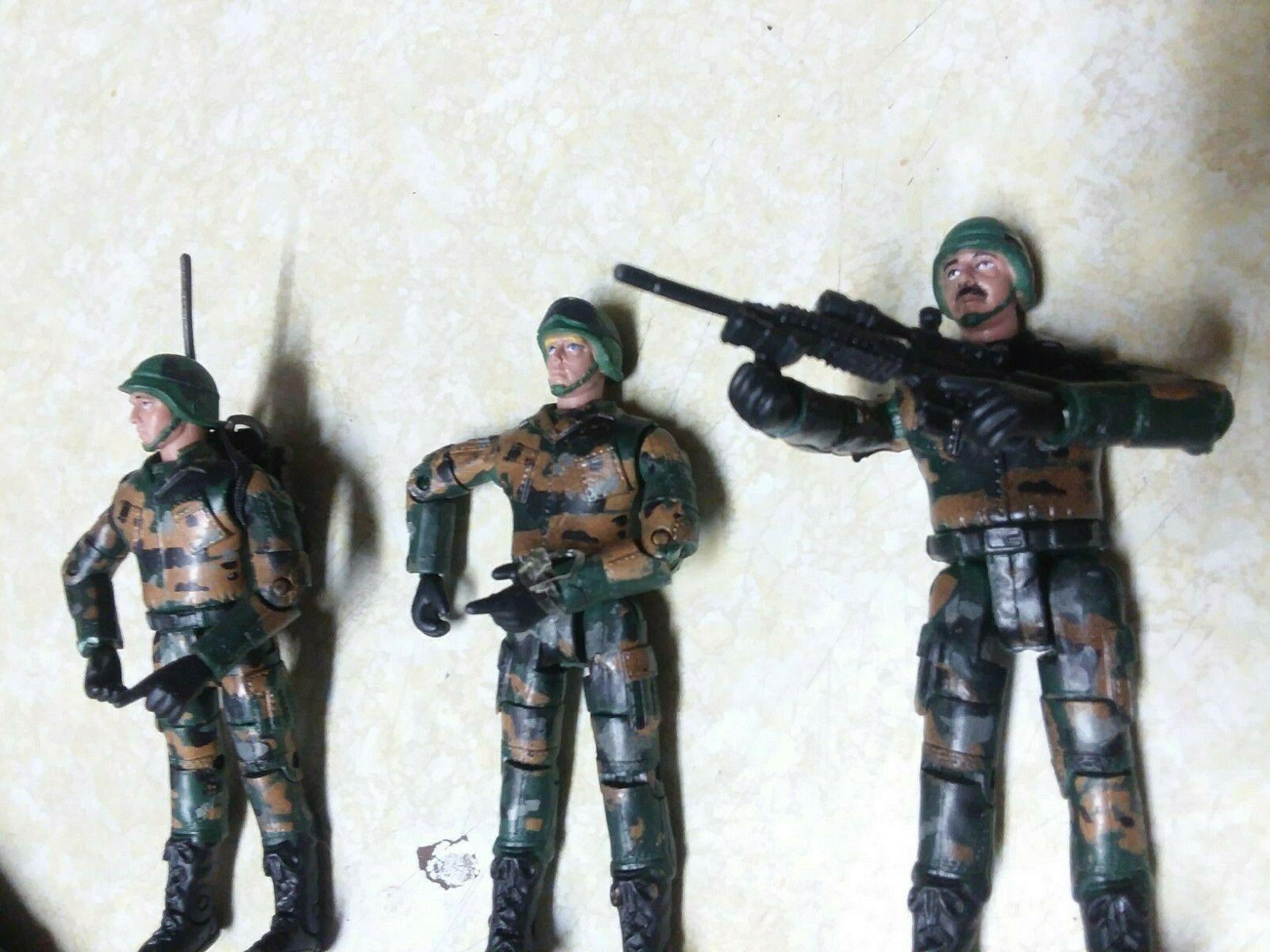 Action 1:18 Elite Force Toy Ranger 9 PC set