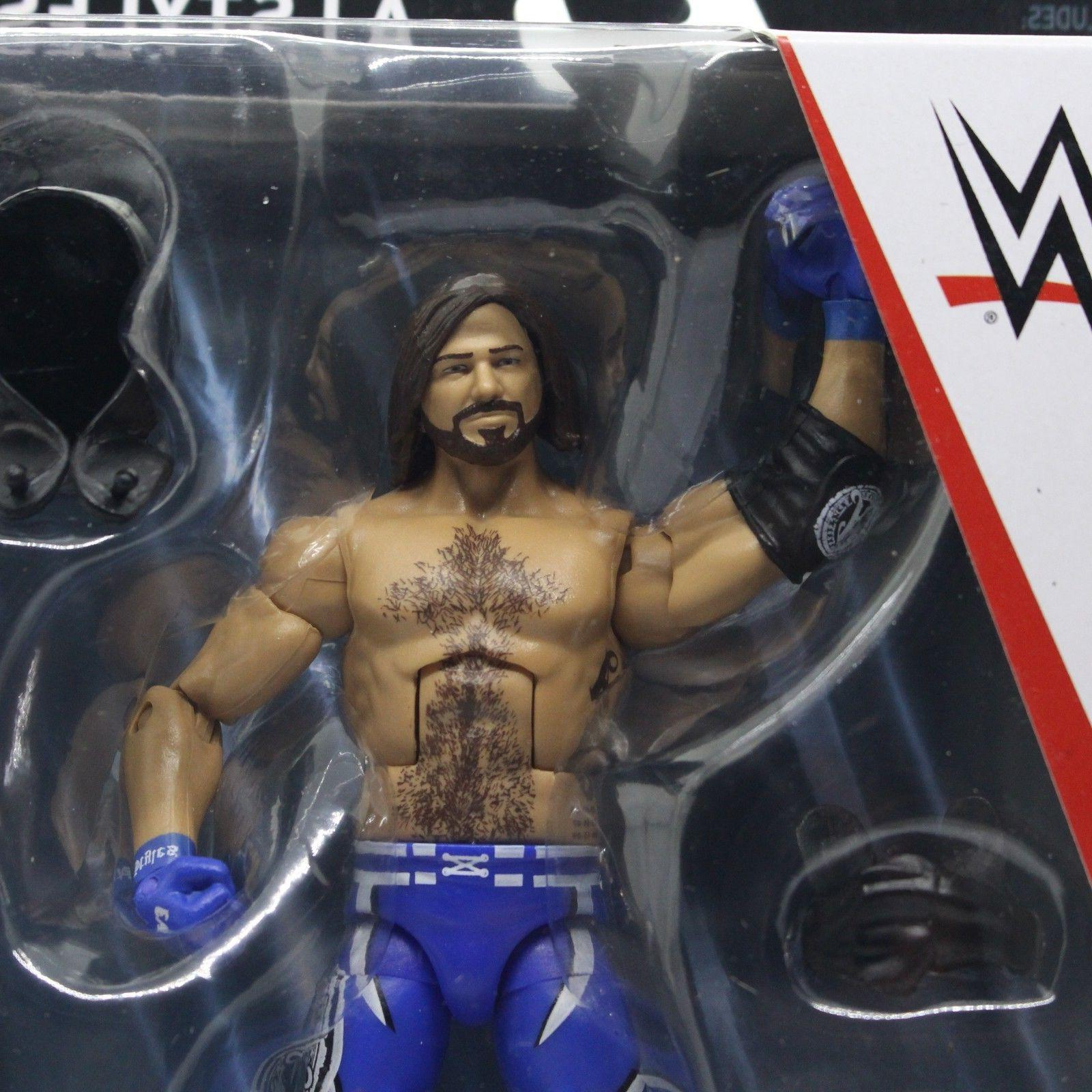AJ Styles WWE Mattel Elite New Action Mint