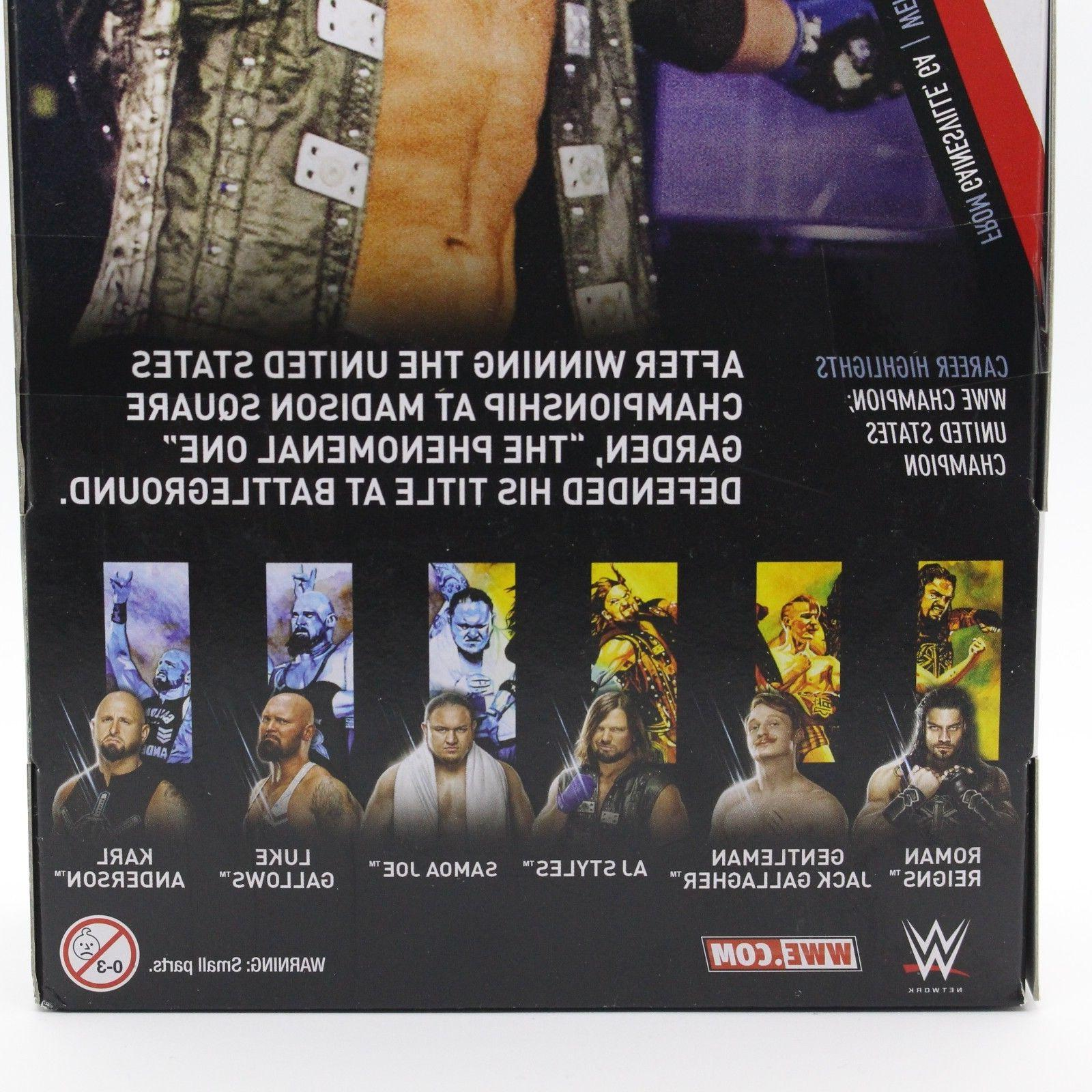 AJ WWE Mattel Elite Series 56 Brand New Figure Mint