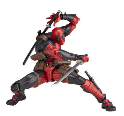 Amazing Kaiyodo DEADPOOL Figure Gift