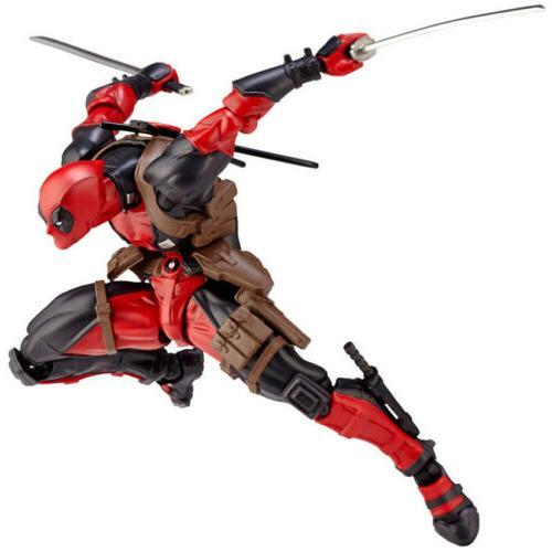 Amazing Marvel Revoltech DEADPOOL X-Men Action Figure Toy Gi