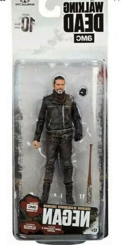 "AMC The Walking Dead Negan Series 10 Action Figure 5.25"" Tal"