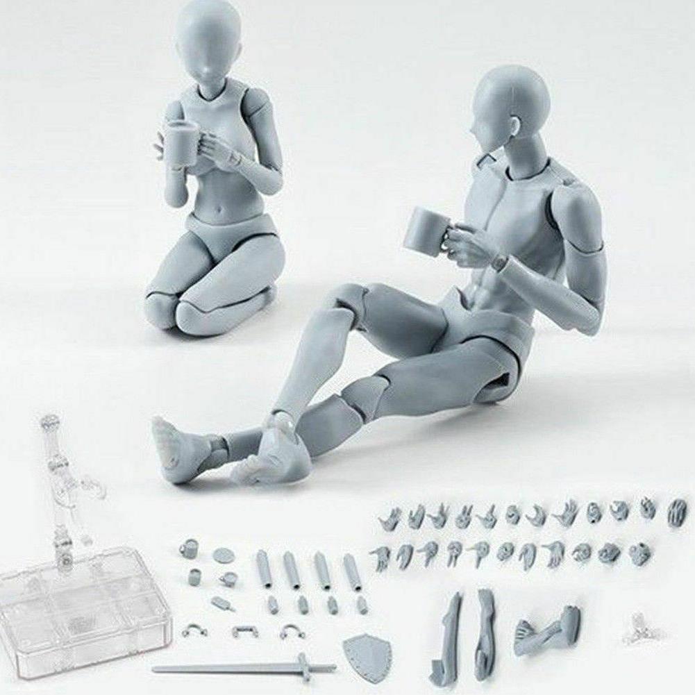 Body Kun Figure Action Model Human Woman