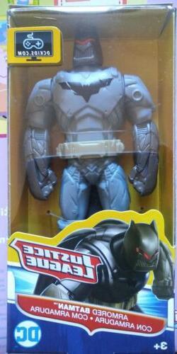 """ARMORED BATMAN 6"""" Action Figure JUSTICE LEAGUE DC COMICS by"""