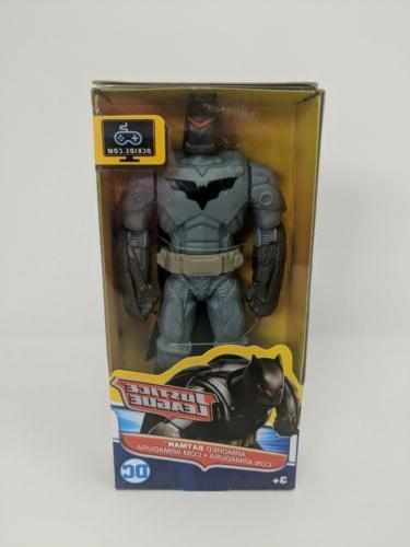 armored batman 6 action figure justice league