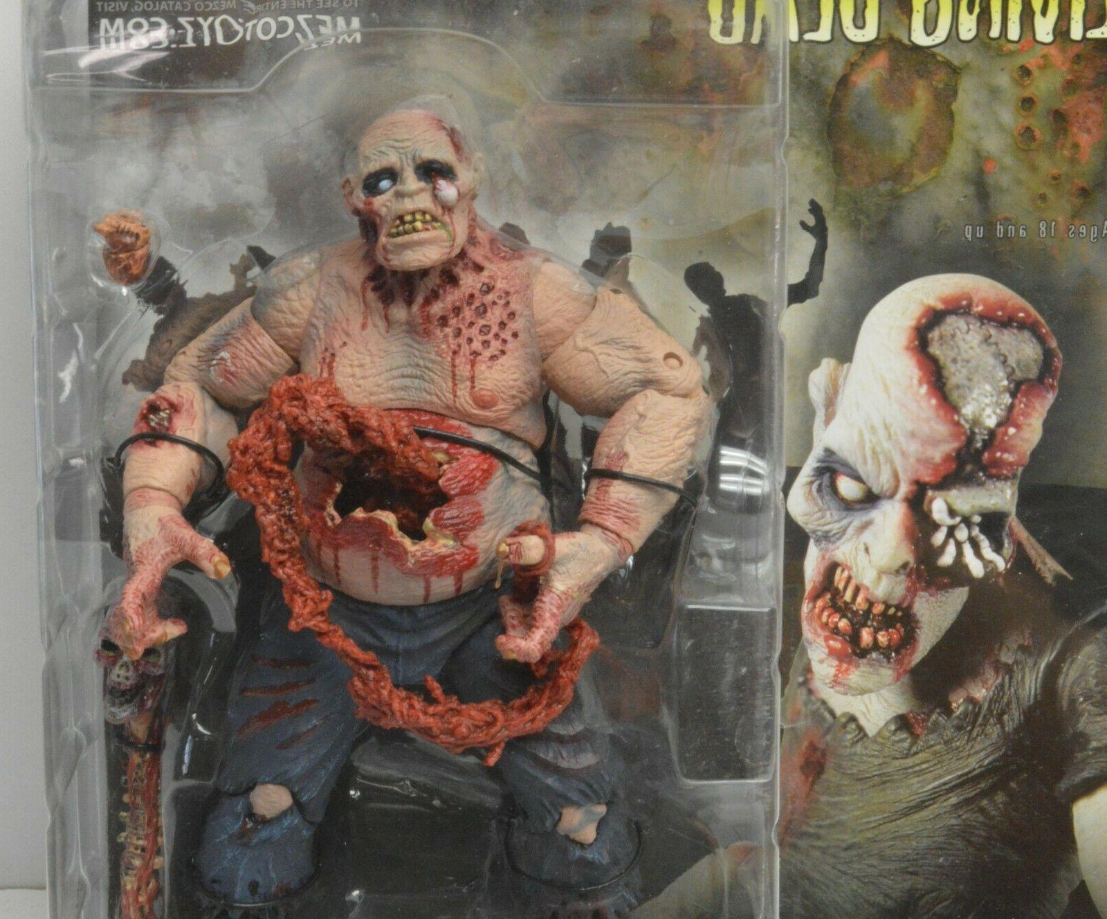 Mezco of Living Figure Horror Zombie Walker