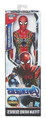 Avengers Endgame Marvel Titan Hero Series Iron Spider Man 12