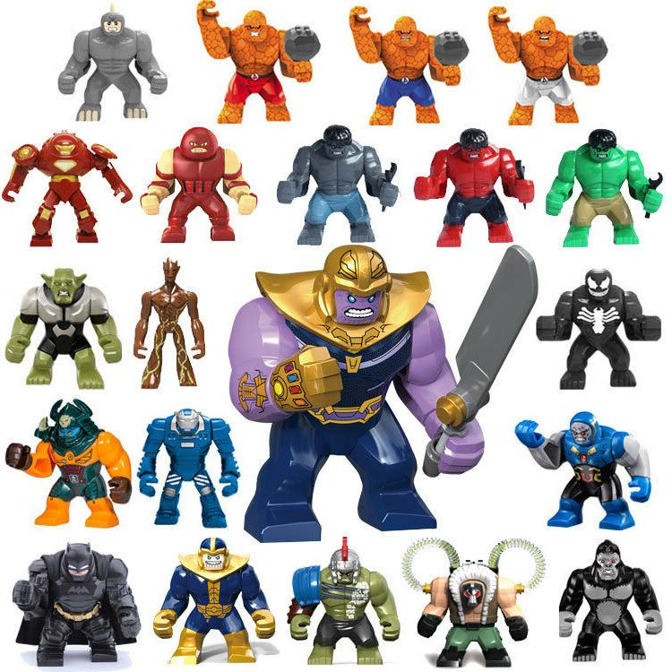 Avengers Infinity War 3 Building Blocks Action Figures Thano