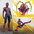 Avengers Infinity War Iron Armor Spider-Man SHF Action Figur