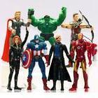 Avengers Thor Hulk Iron Man Captain America Black Widow Acti