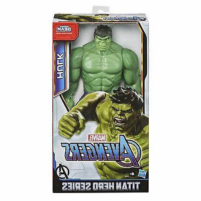 Marvel Titan Series Blast Hulk Action Figure,