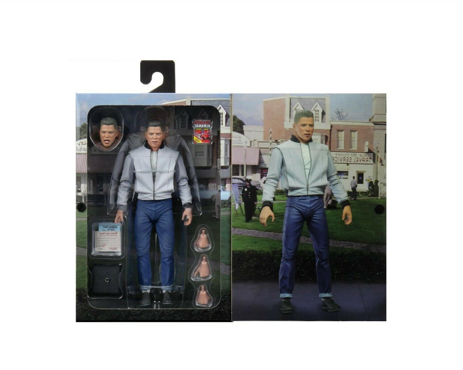 """Back to the - 7"""" Action Figure - Ultimate Biff- NECA"""