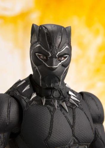 Bandai Tamashii Nations Marvel Avengers Black Panther S.H. F