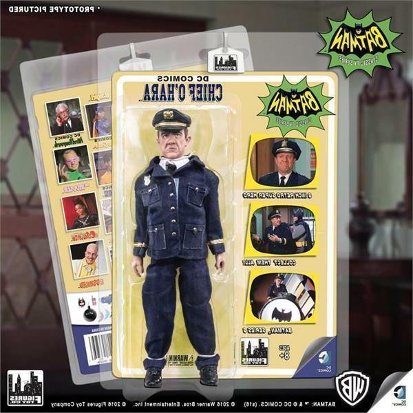 Batman 1966 Tv Series 5; Chief O Hara, 8 INCH ACTION FIGURE