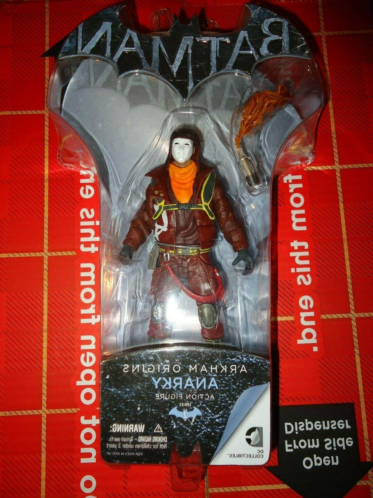 DC Collectibles Batman Arkham Asylum Origins ANARKY Action F