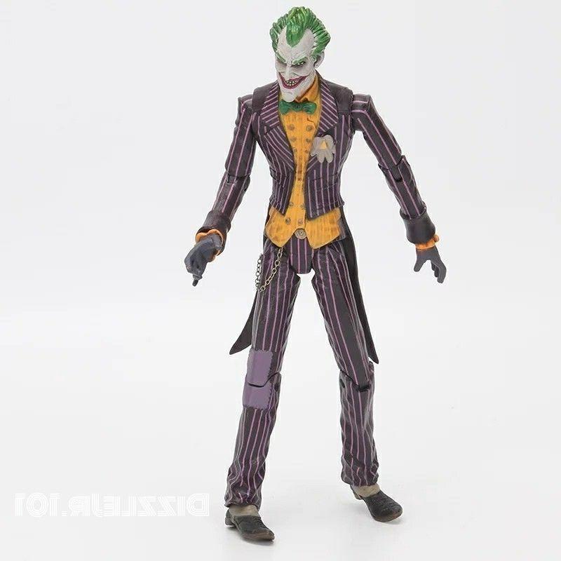 "Batman Joker Arkham DC PVC Figure Model 7"""