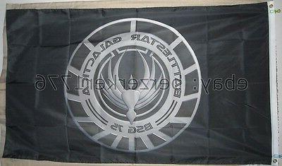 battlestar galactica bsg 75 3 x5 black