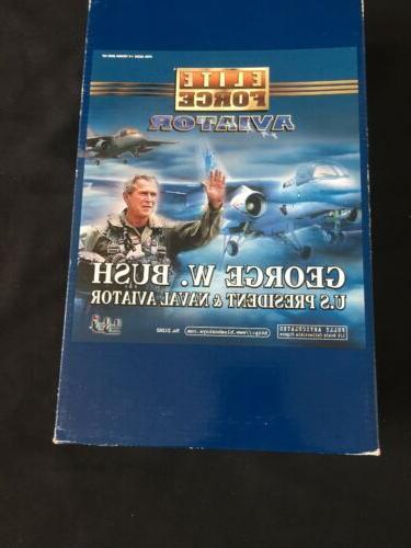 "Elite BBI Aviator ""George W. U.S. President Naval Aviator 1/6"