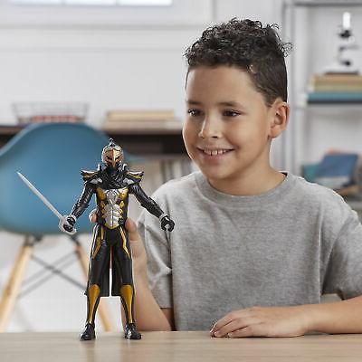 Power Beast 12-Inch Cybervillain Robo-Blaze Action Figure Toy