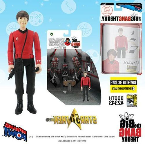 big bang theory tos howard 3 4 inch figure con excl