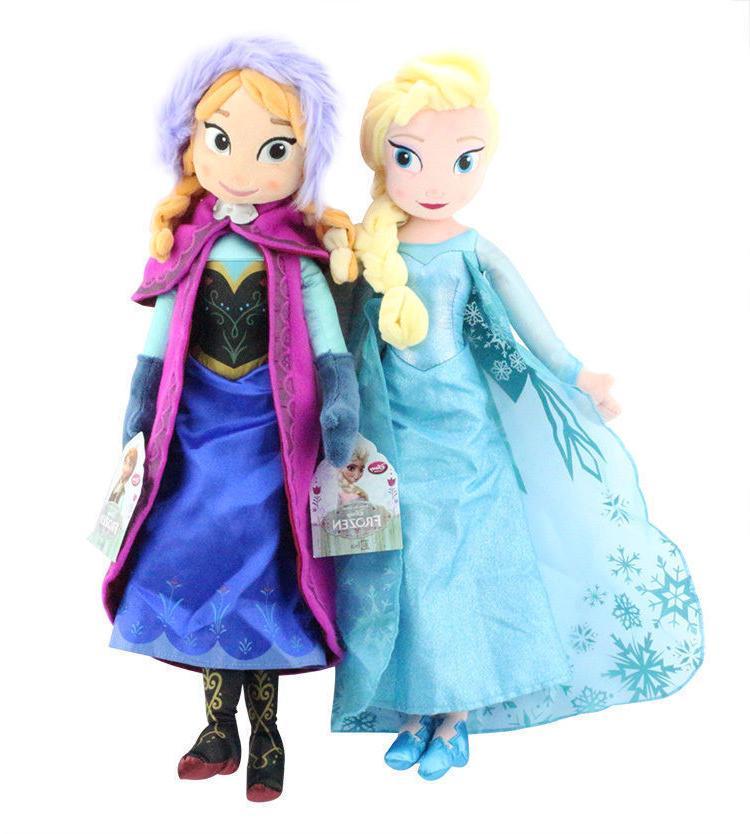 Birthday Frozen & Anna Disney Stuffed Plush