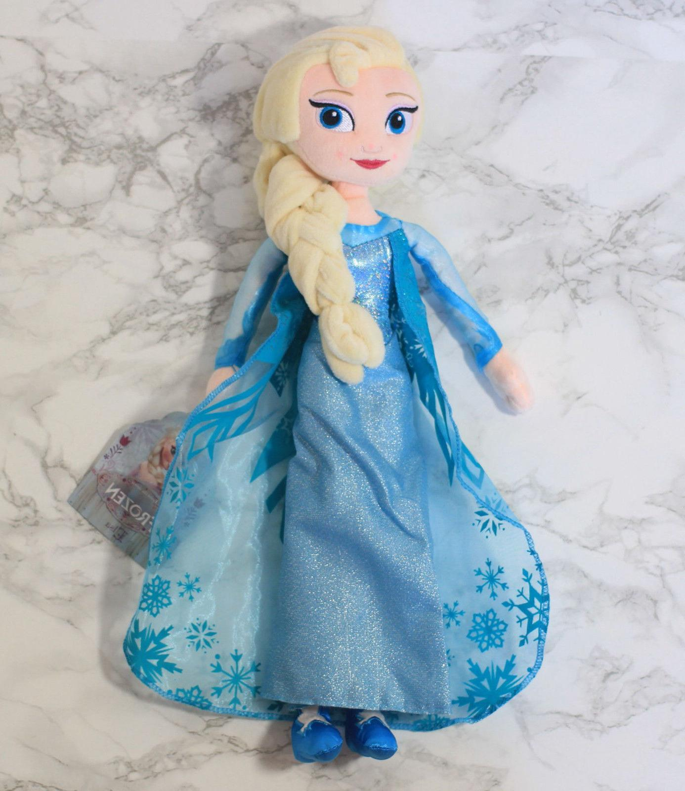"Birthday Gift 16"" Frozen Elsa Disney Stuffed Plush Doll"