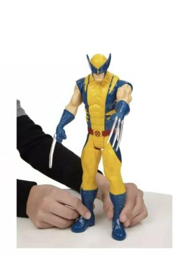 "Boys X-Men Wolverine Marvel Titan Hero Series Action 12"" Toy"