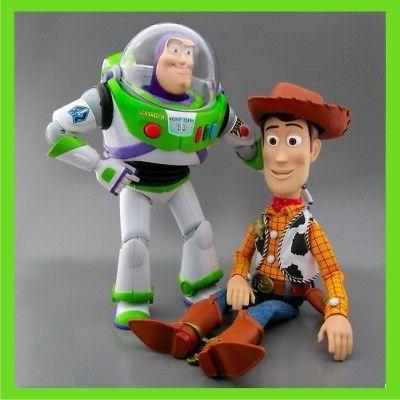 BRAND NEW Disney Toy Story TALKING Woody BUZZ Lightyear Acti