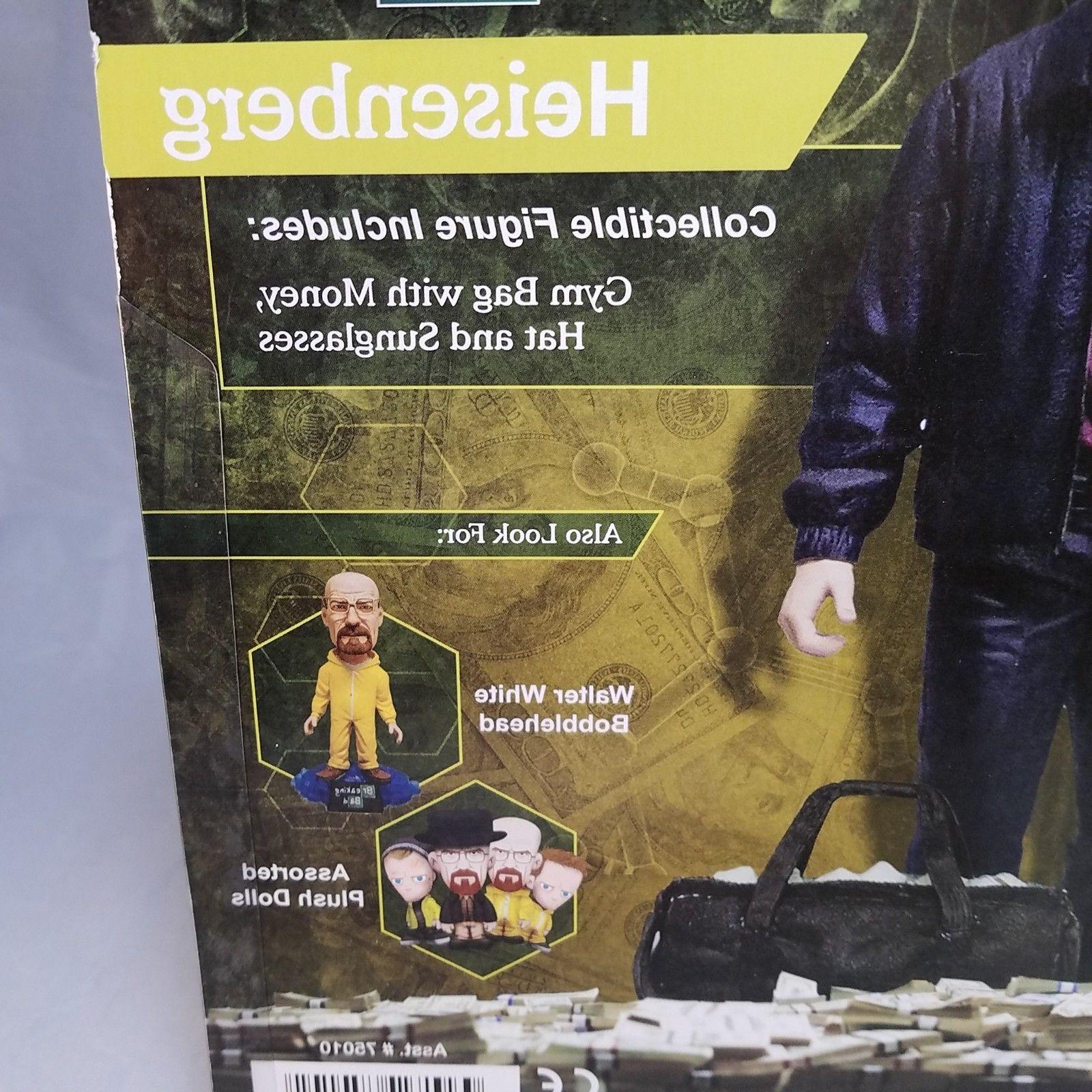 """Breaking Bad Walter White Heisenberg 6"""" Mezco MOC Action New"""