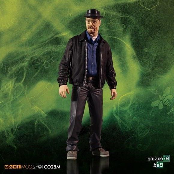 "Breaking Walter Heisenberg 12"" Action Mezco"