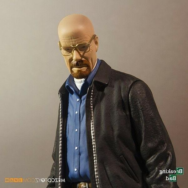 Breaking Bad Walter White Heisenberg Action Figure Mezco