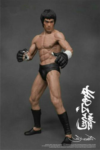 Bruce Lee Action Figure Collector Kung PVC Statue Decoration Toy Gift